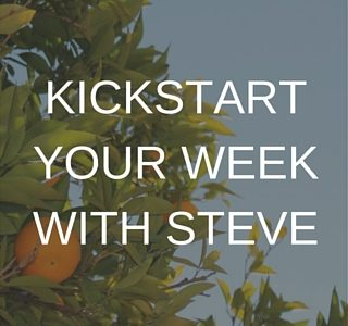 Steve Penny, Kickstartyourweekwithsteve, leadership, success, Christian Life