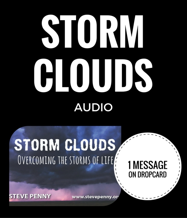 STEVE PENNY, STORM CLOUDS, PREACH